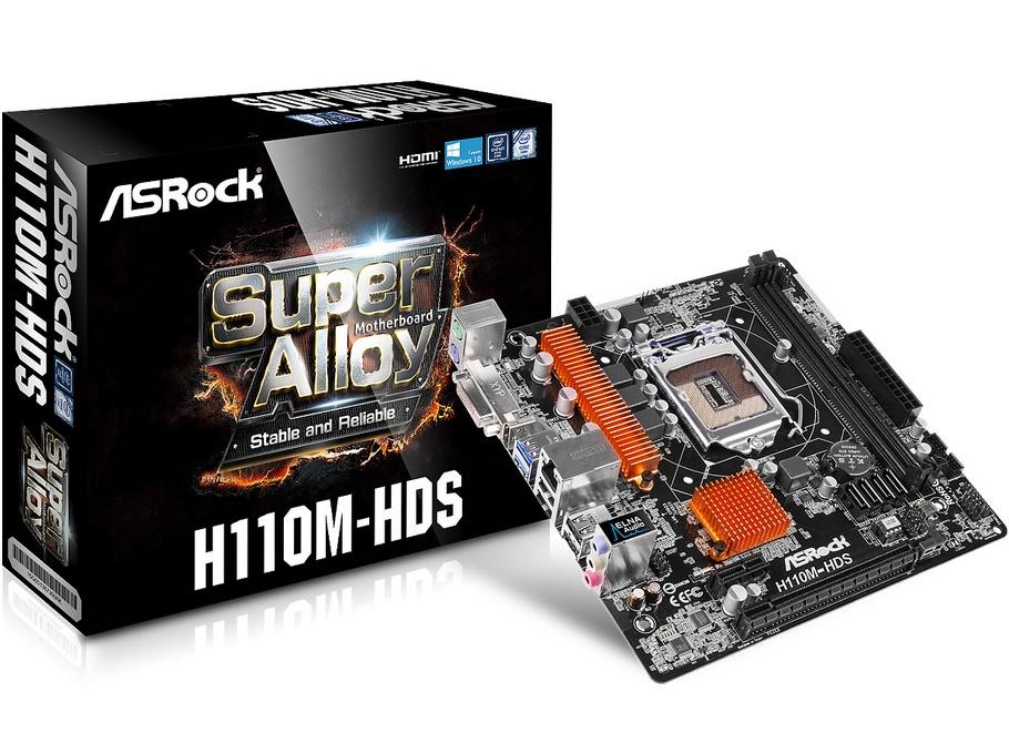 Motherboard Asrock H110M