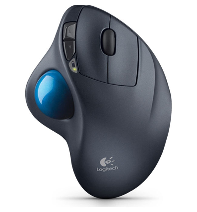 Wireless Trackball Logitech - Bola De Seguimiento