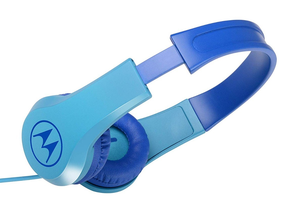 Audifonos Infantiles Tipo Diadema Motorola Azul