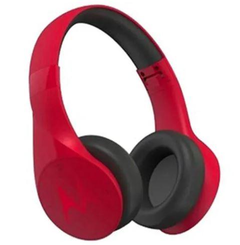 Audifonos Tipo Diadema Bluetooth Motorola Pulse Escape Rojo