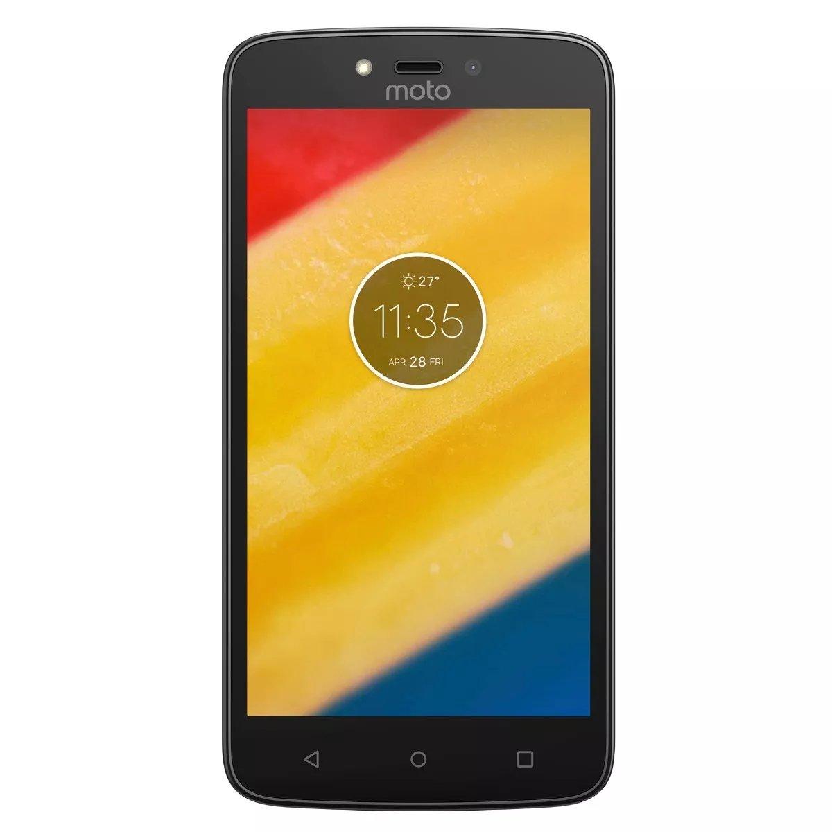 "Smartphone Motorola Moto C Plus Mediatek Mt6737 4g 5"" Negro"