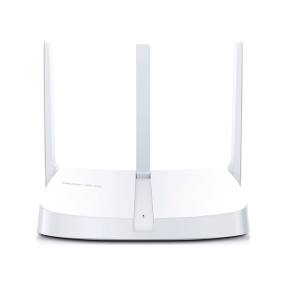 Router inalámbrico Mercusys 300mbps 3 ptos 3 ant