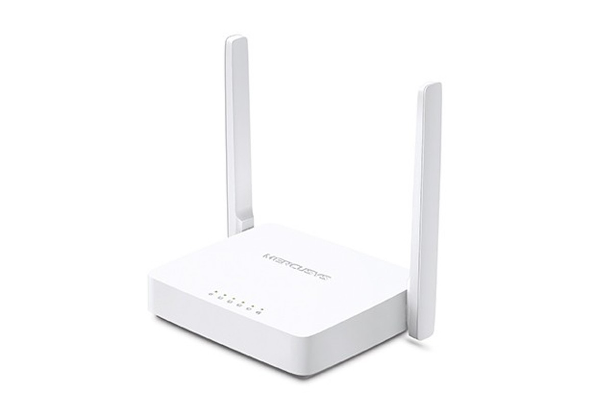 Router inalámbrico Mercusys 300mbps 2 ptos 2 ant