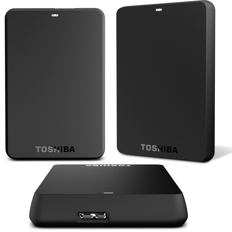 Disco Duro Externo Toshiba Canvio 2 Tb