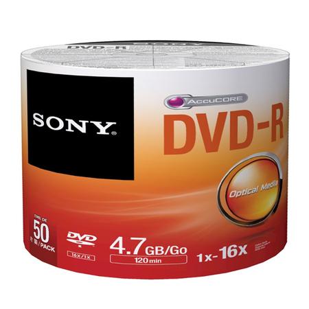 Dvd-R Sony 50 Piezas