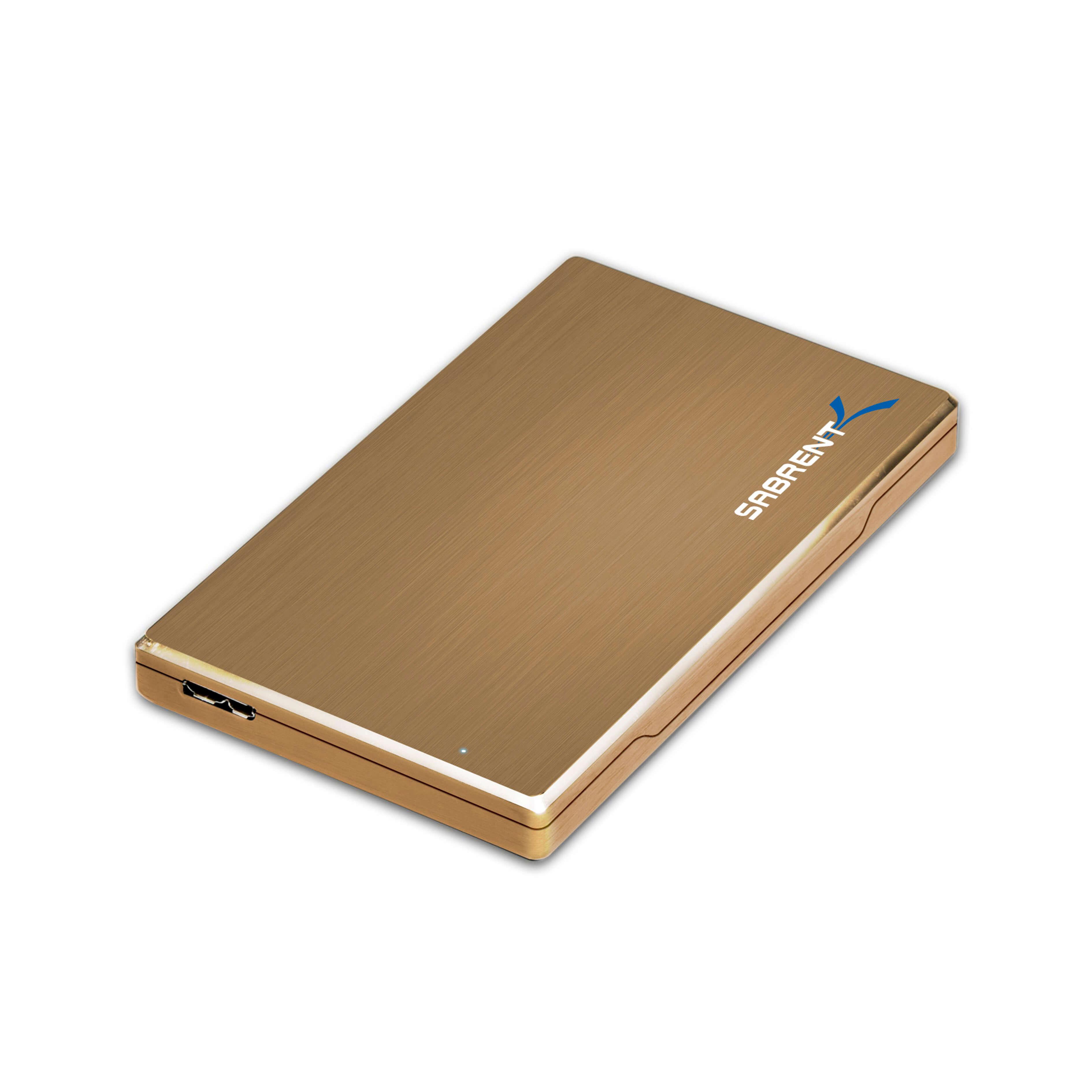 """Case 2.5"""" St Sabrent 3.0 Gold"""