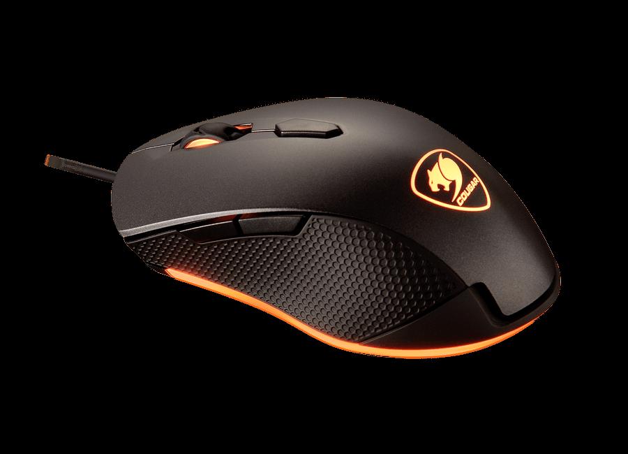 Mouse Cougar Sur Passion Color Negro RGB