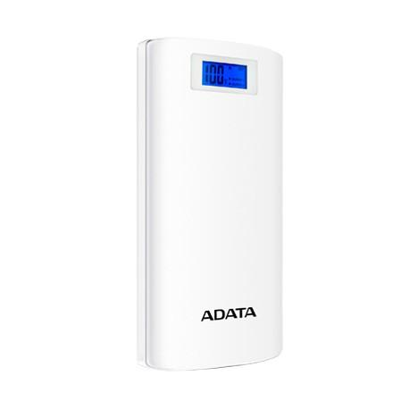 Power Bank ADATA P20000D 20000MAH 2xUSB Blanco