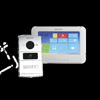 HIKVISION Kit Videoportero IP