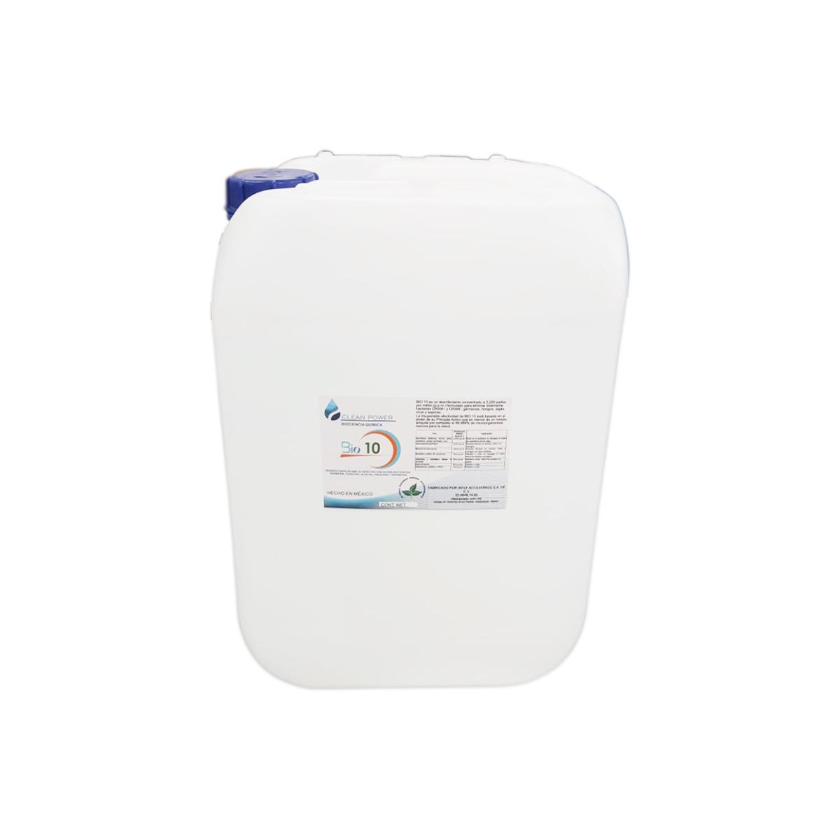 Desinfectante Limpiador Pelicula Protectora Para Mnos Capa 4 Horas 5 L Hogar Bio 10