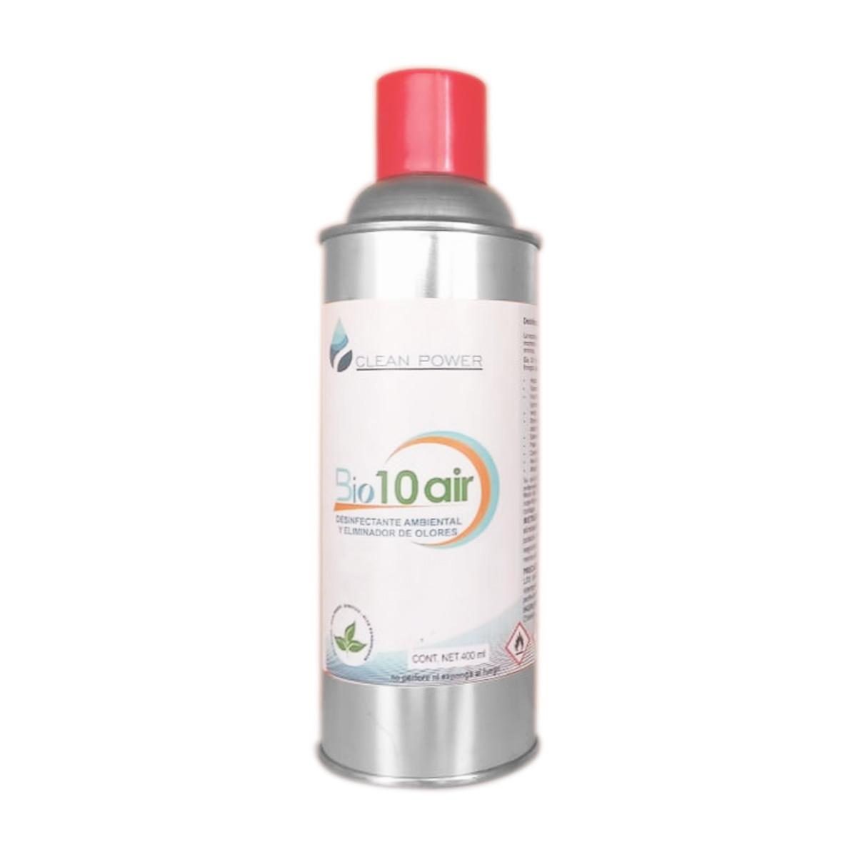 Desinfectante Limpiador Aerosol Lata 400ml Virus Bio 10 Air