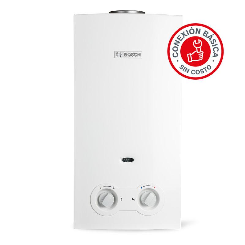 Calentador De Agua Instantaneo 2 Servicios Eco 11 Gas Bosch