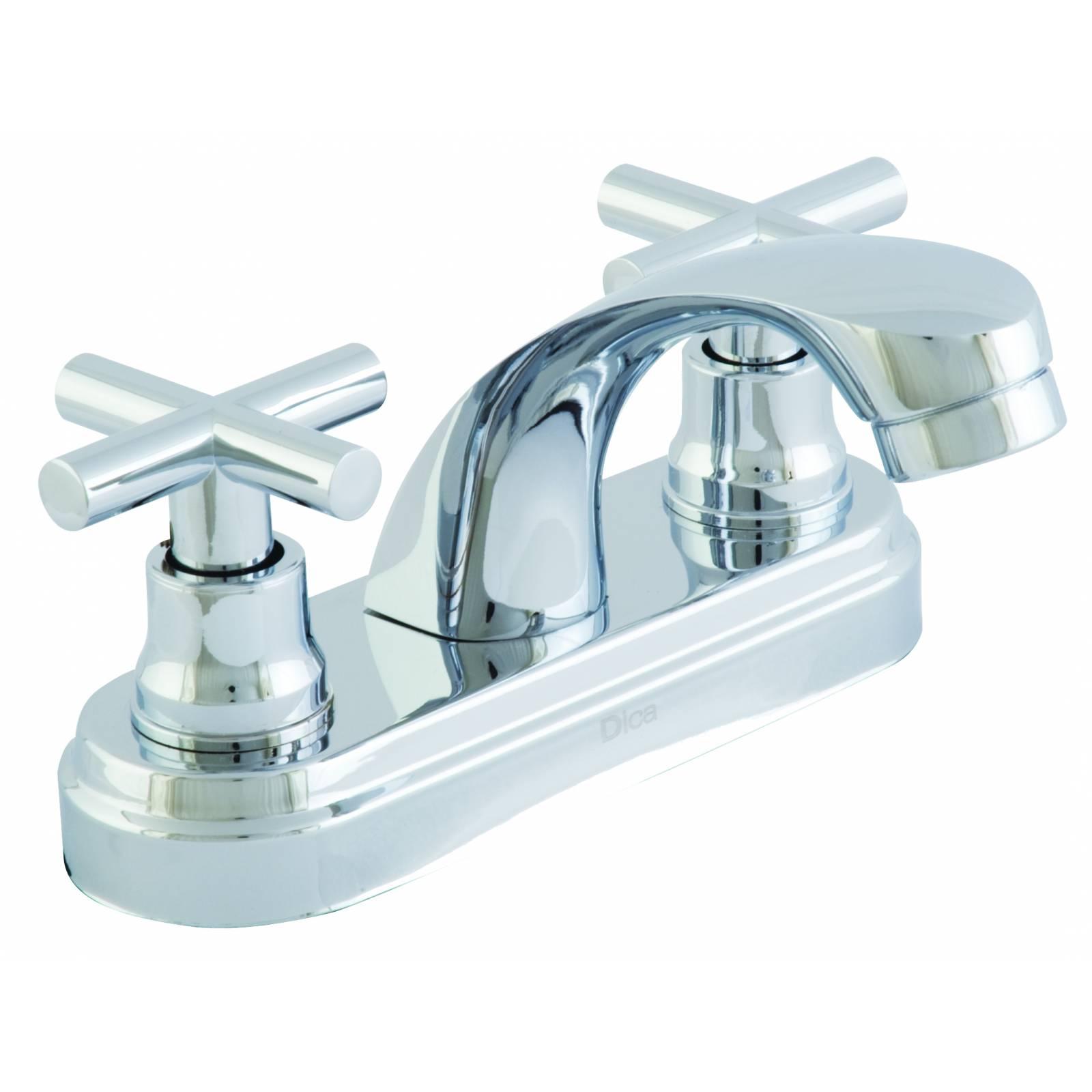 Mezcladora de 4in para lavabo con cubierta y manerales DICA