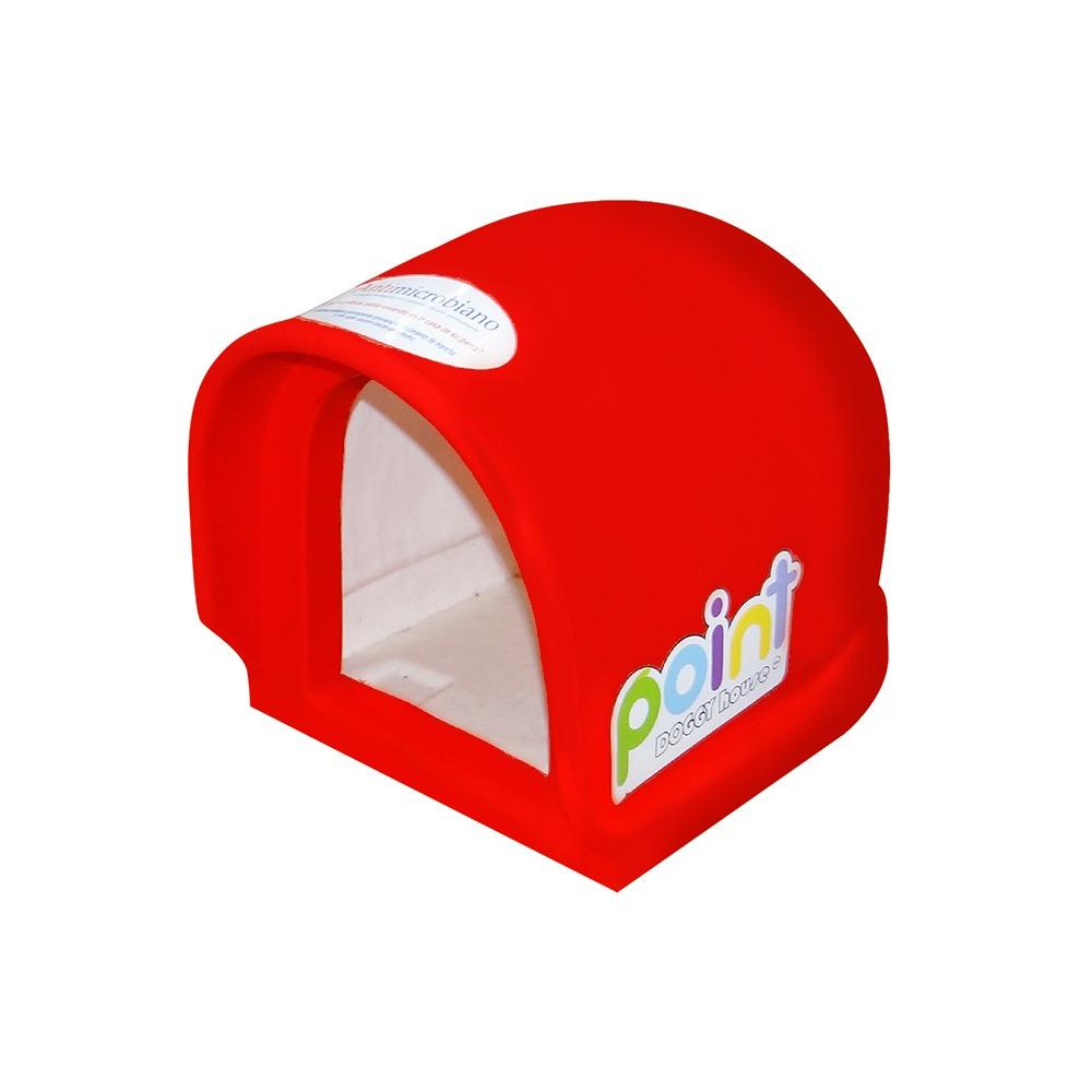 Casa Para Perro Mini Point Rojo Doggy House