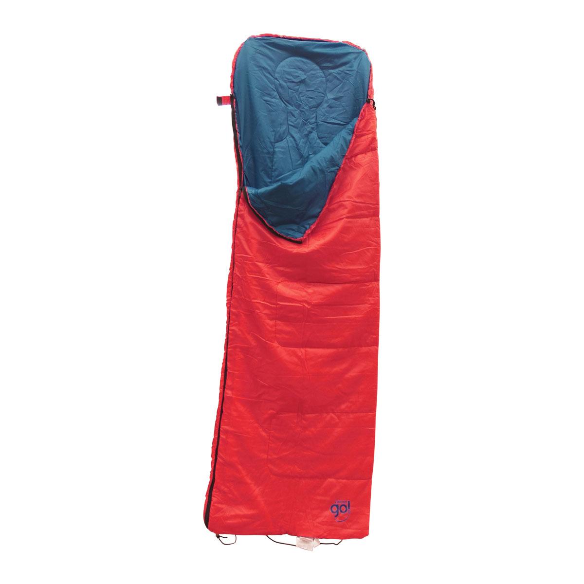 Bolsa Dormir Con Gorro Coral GO Campismo 2000022252 Coleman