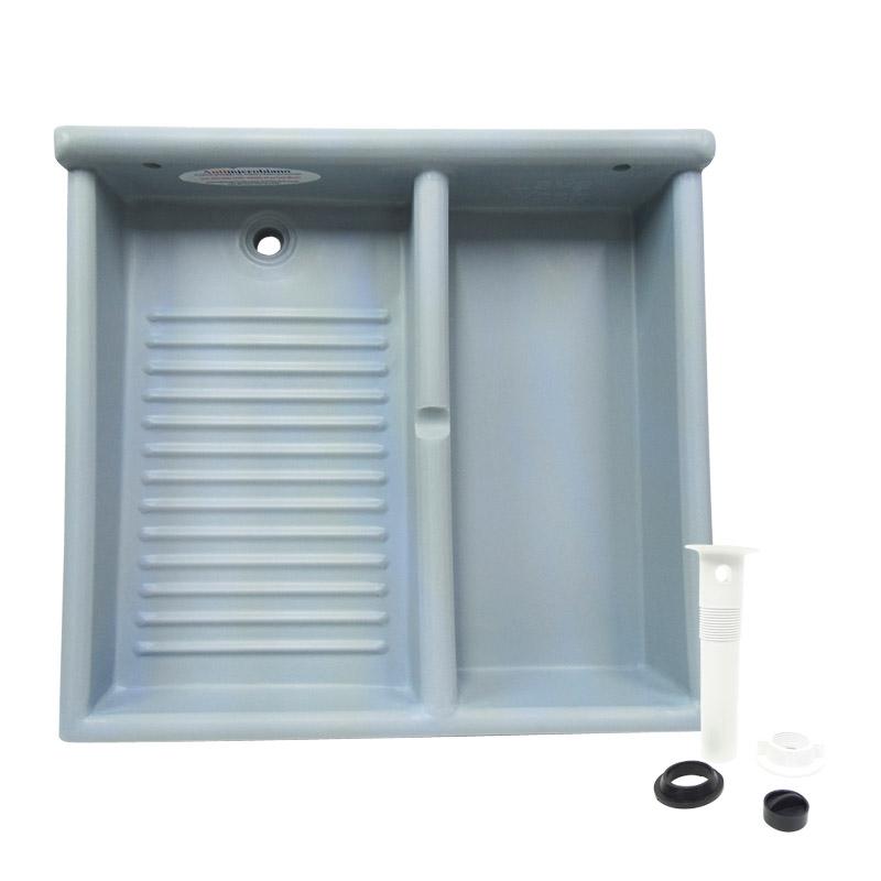 Tallador Lavadero con Deposito Plastico Lava Wash