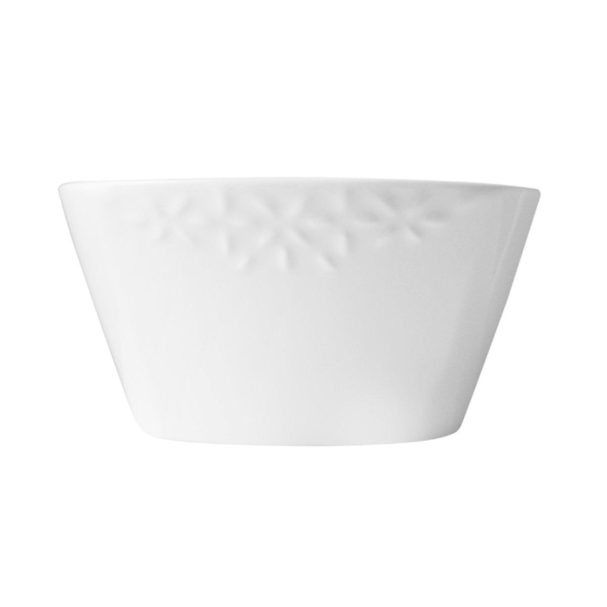 Bowl Tazon Redondo Porcelana 6 In Blanco Crown Baccara