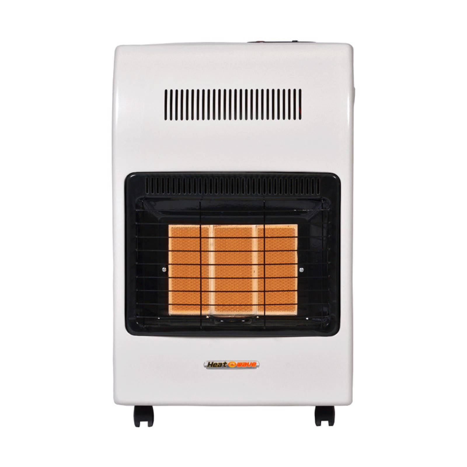 Calefactor Gas LP 3 Radiantes Blanco HG3X Heat Wave