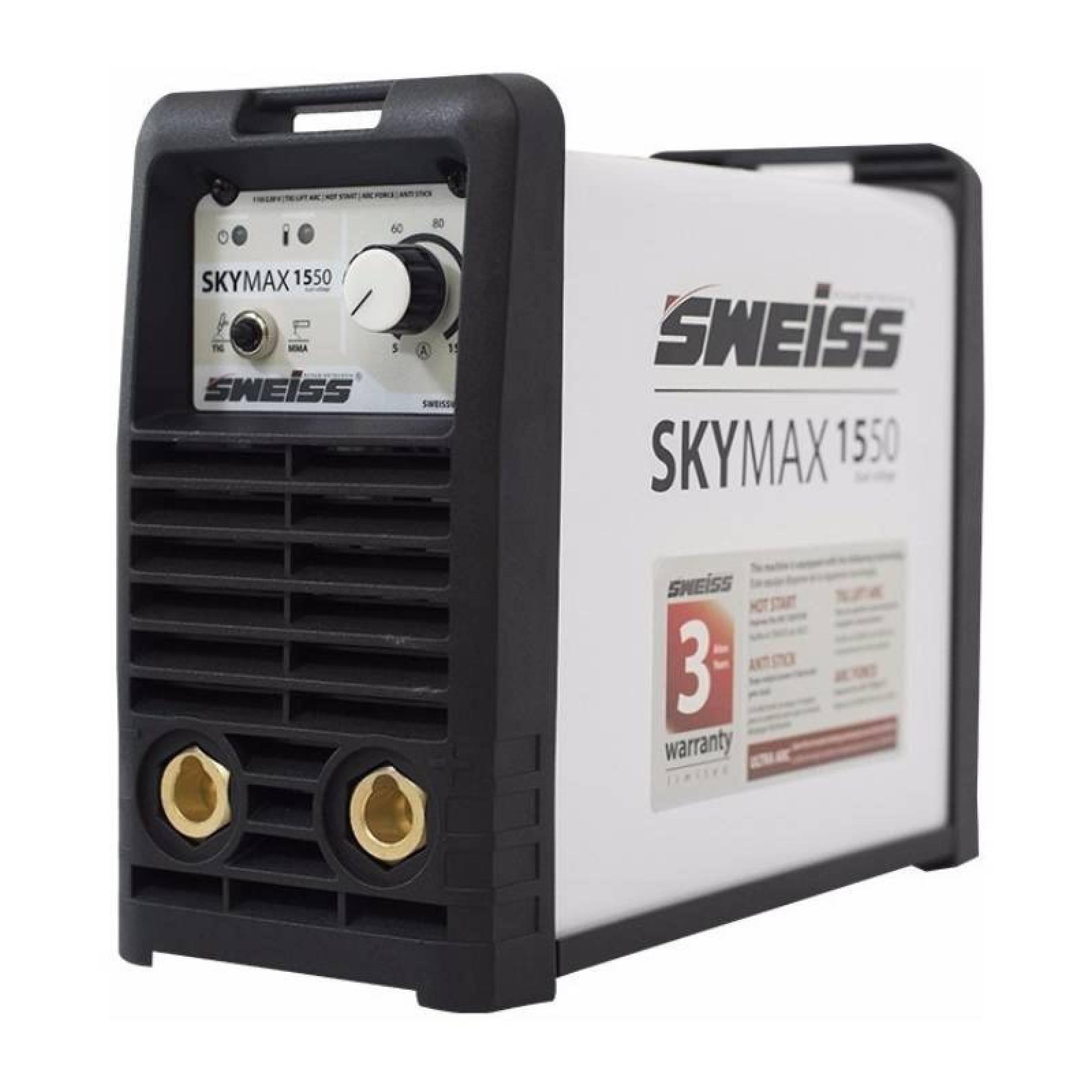 Soldadora Inversora Para Herreria 110/220V SkyMax1550 Sweiss