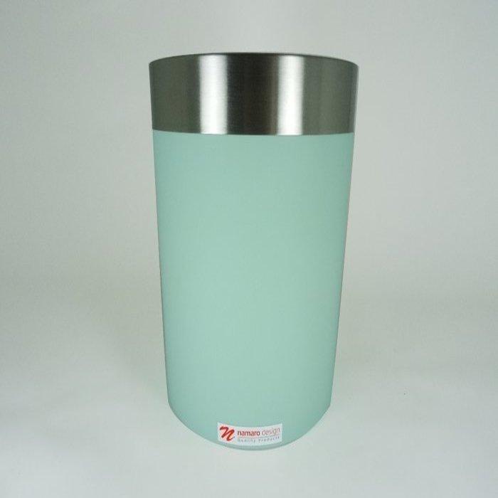 Basurero Acero Inoxidable Pvc Verde BA-436188 Namaro Design