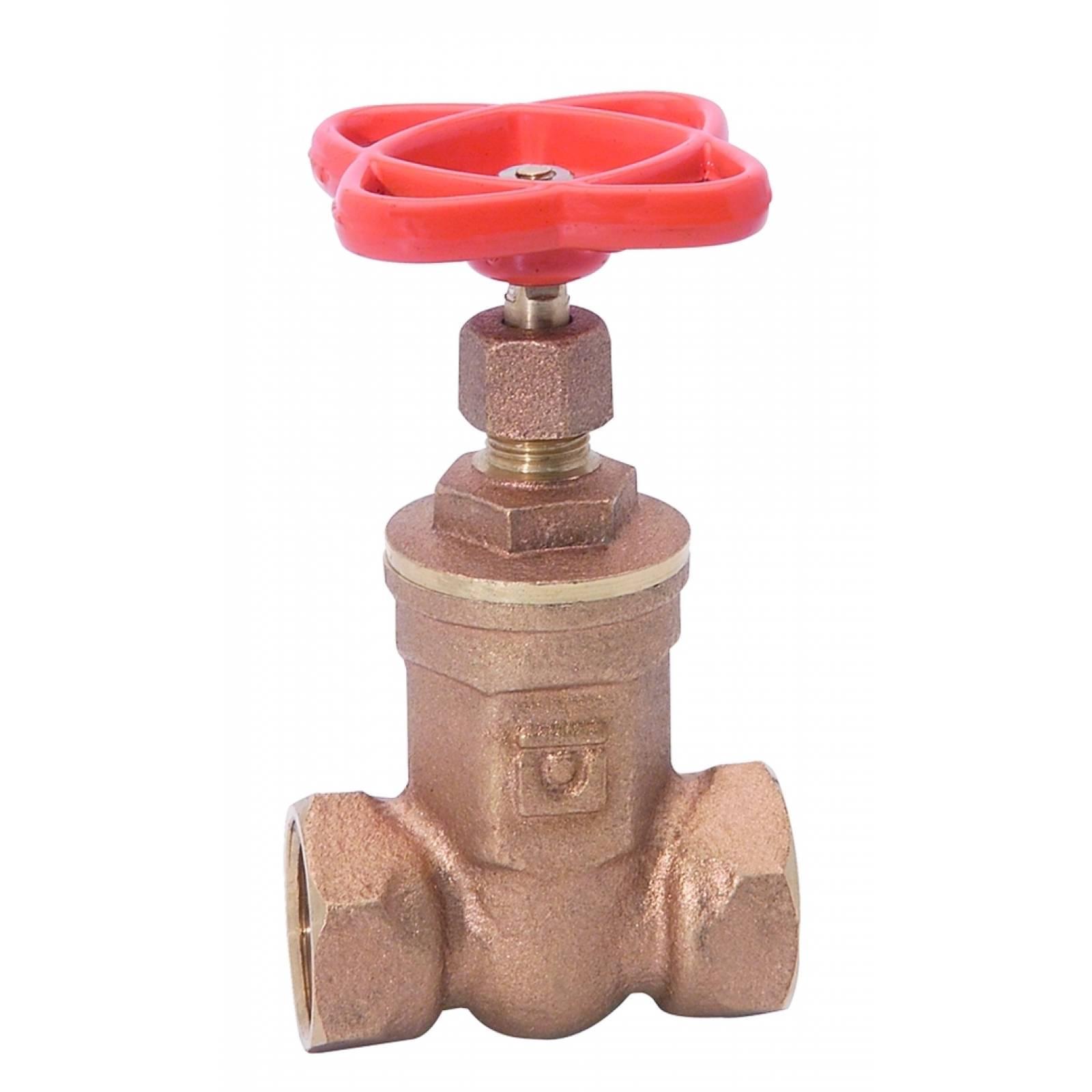 Válvula de compuerta roscable para gas de 1/2In 22.13 URREA