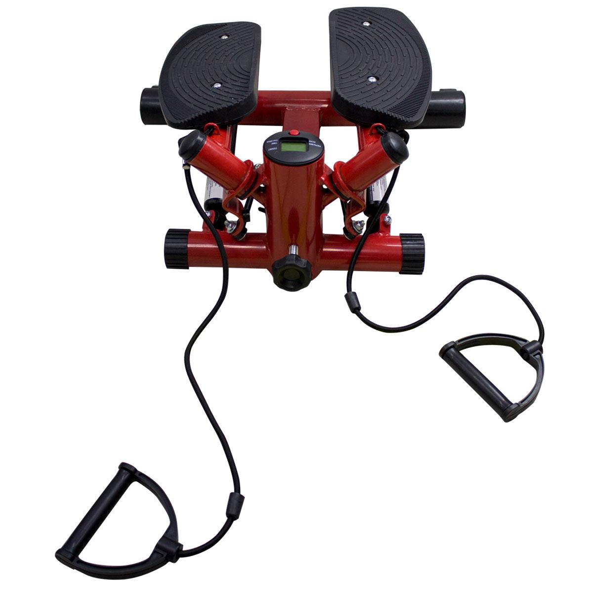 Escaladora Stepper Mini 120Kg + Bandas Resistencia Ejercicio