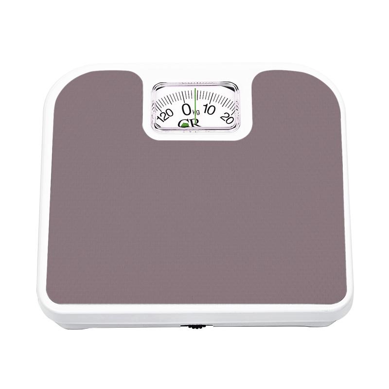 Bascula de Baño Cuadrada Analoga 130 Kg Cafe Personal