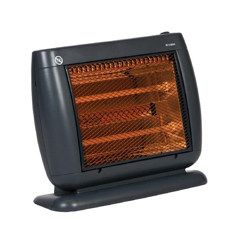 Calentador Calefactor Elec 800w Cuarzo 2 Temp Heat Wave
