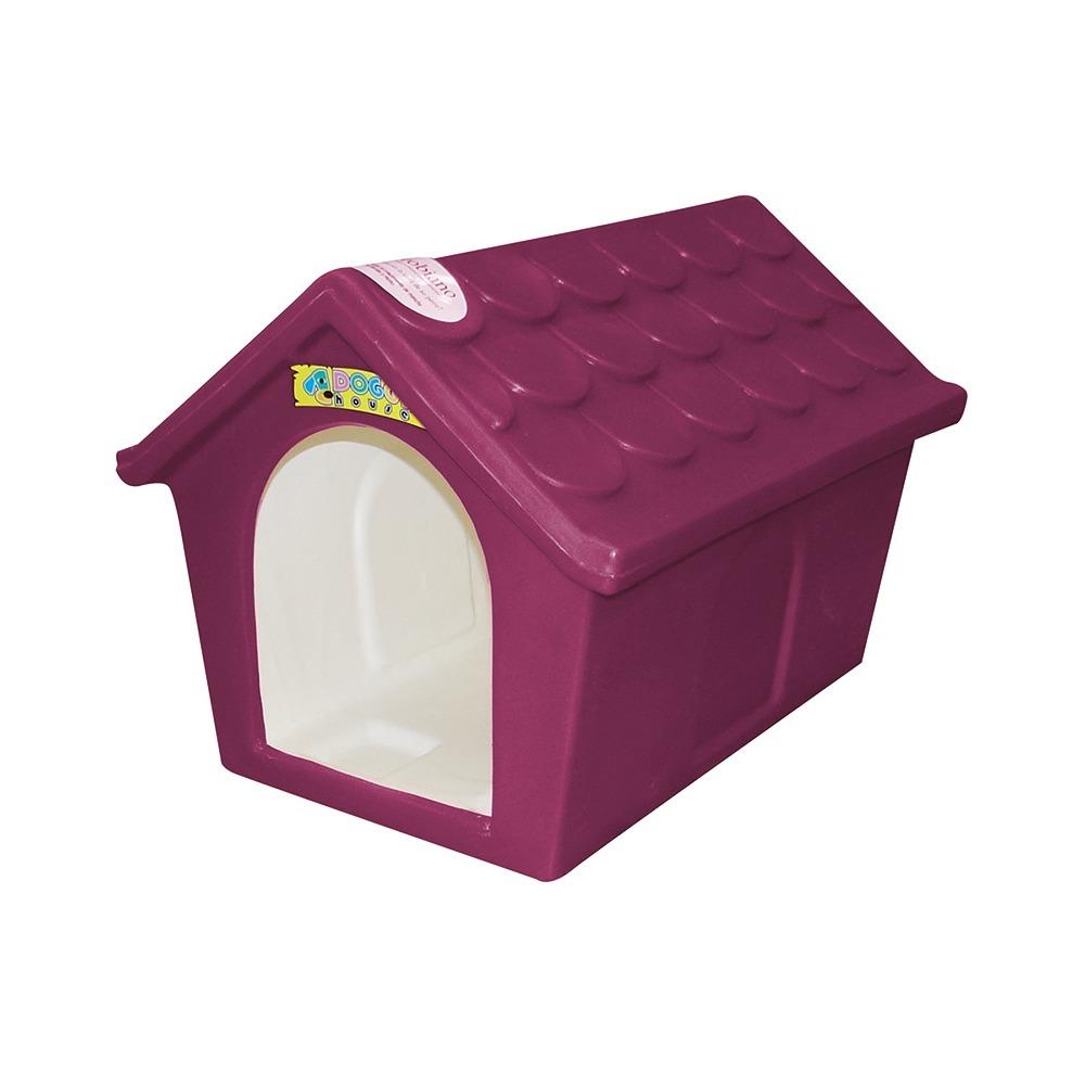 Casa Para Perro Clasica Pequeña Fucsia Doggy House