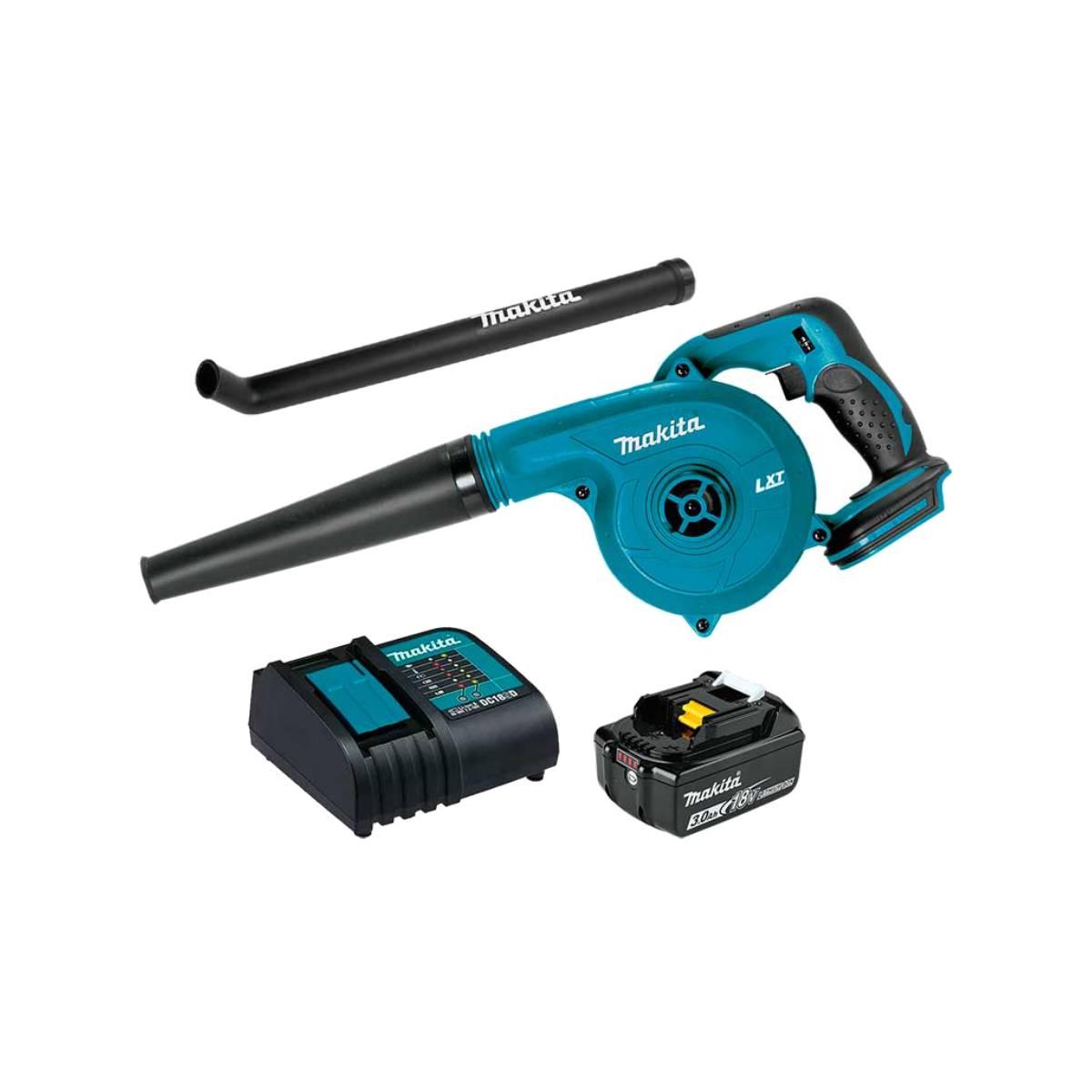 Sopladora Bateria 18V + Cargador Boquilla DUB182SFX1 Makita