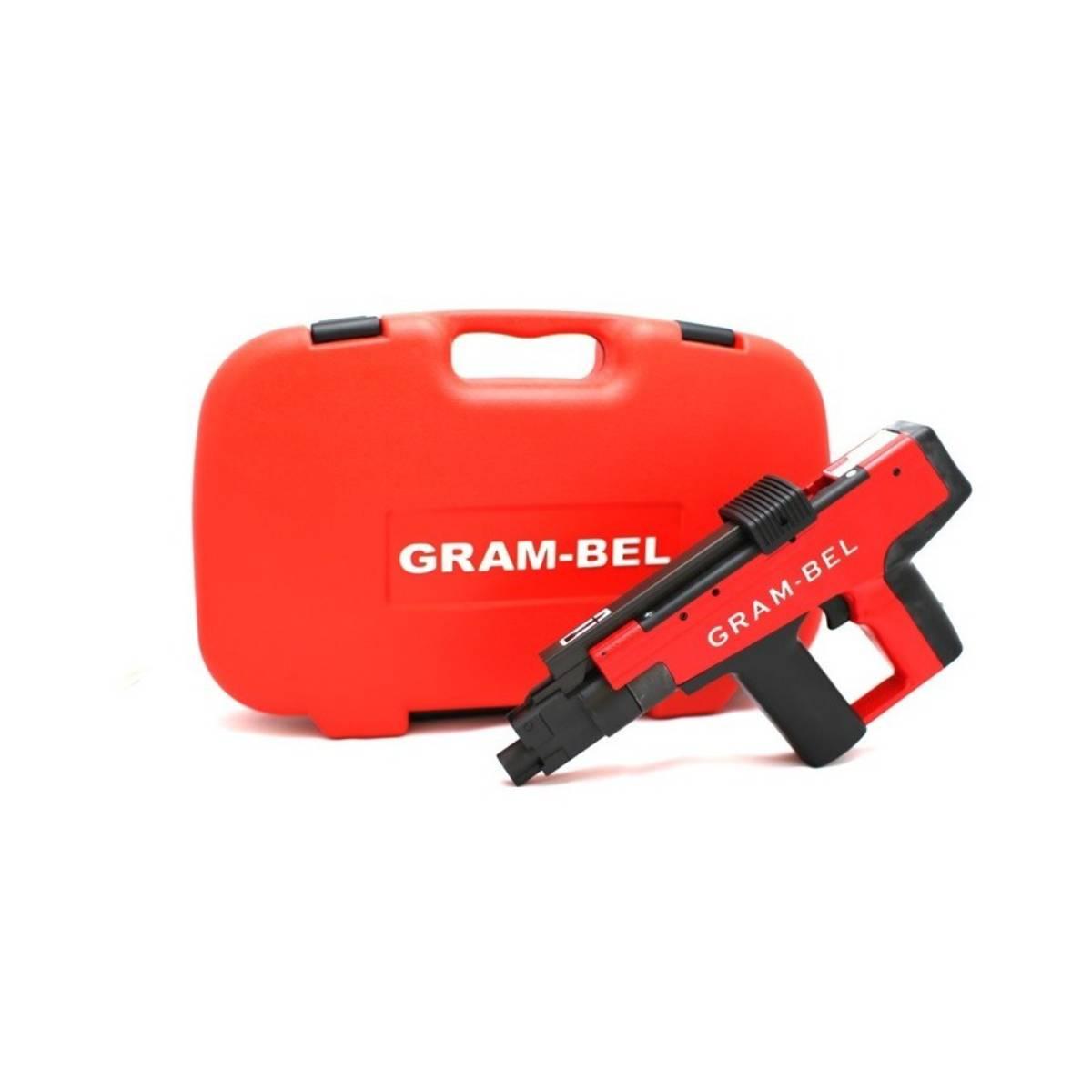 Pistola Impacto Disparador Fijacion 12mm 3In GB-450 Gram-Bel