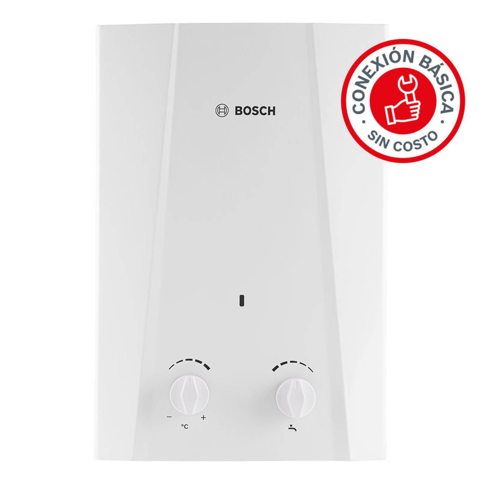 Calentador De Agua Instantaneo 1 Servicio Eco 6 Gas Lp Bosch