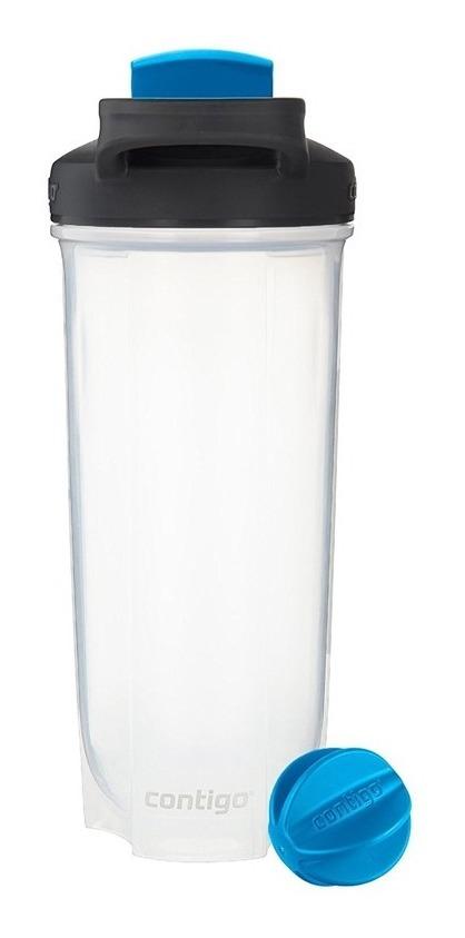 Botella Mezcladora Plastica 28 Oz C/agitador Shake Contigo