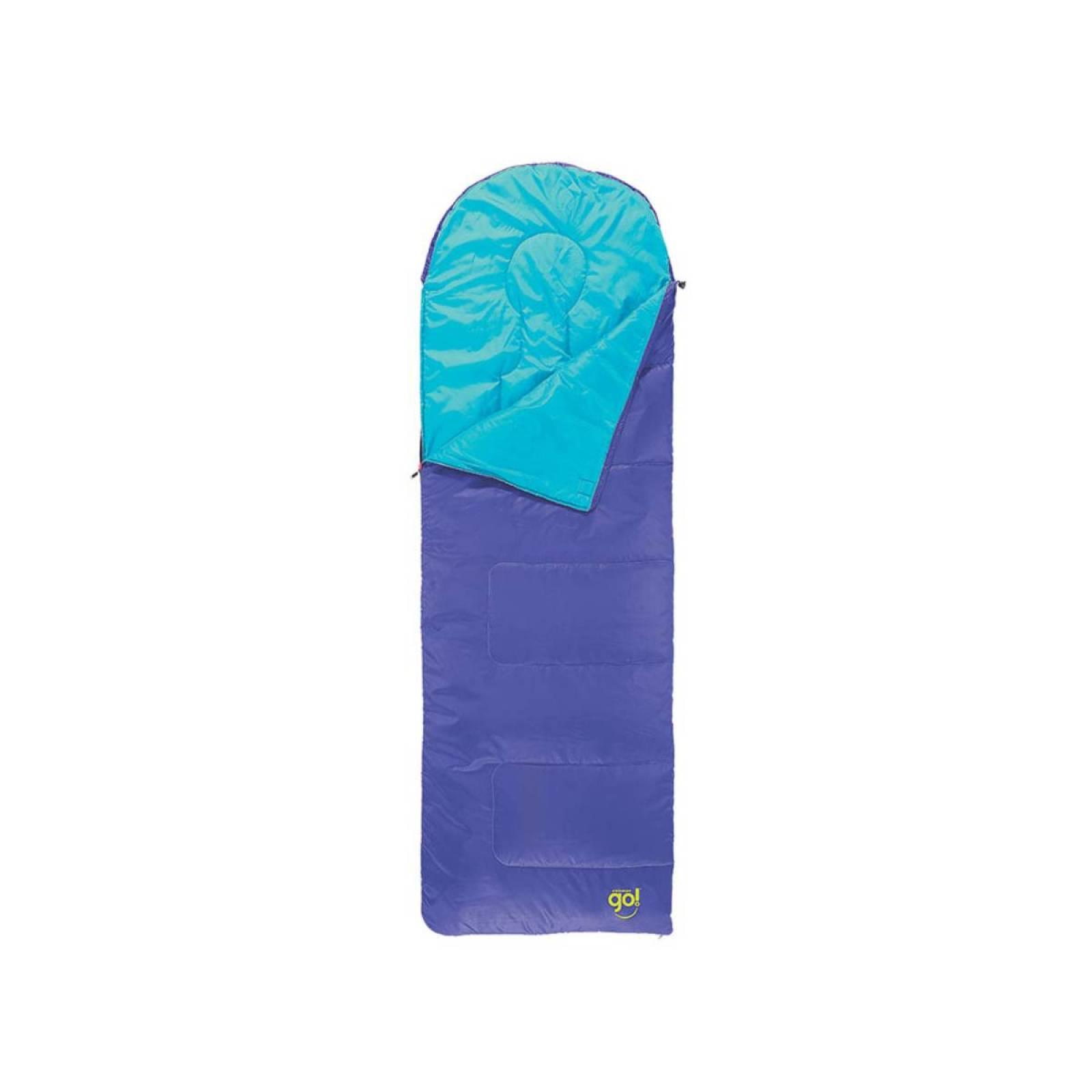Bolsa Saco de Dormir Sleeping Bag Island GO Azul 2000022162 Coleman