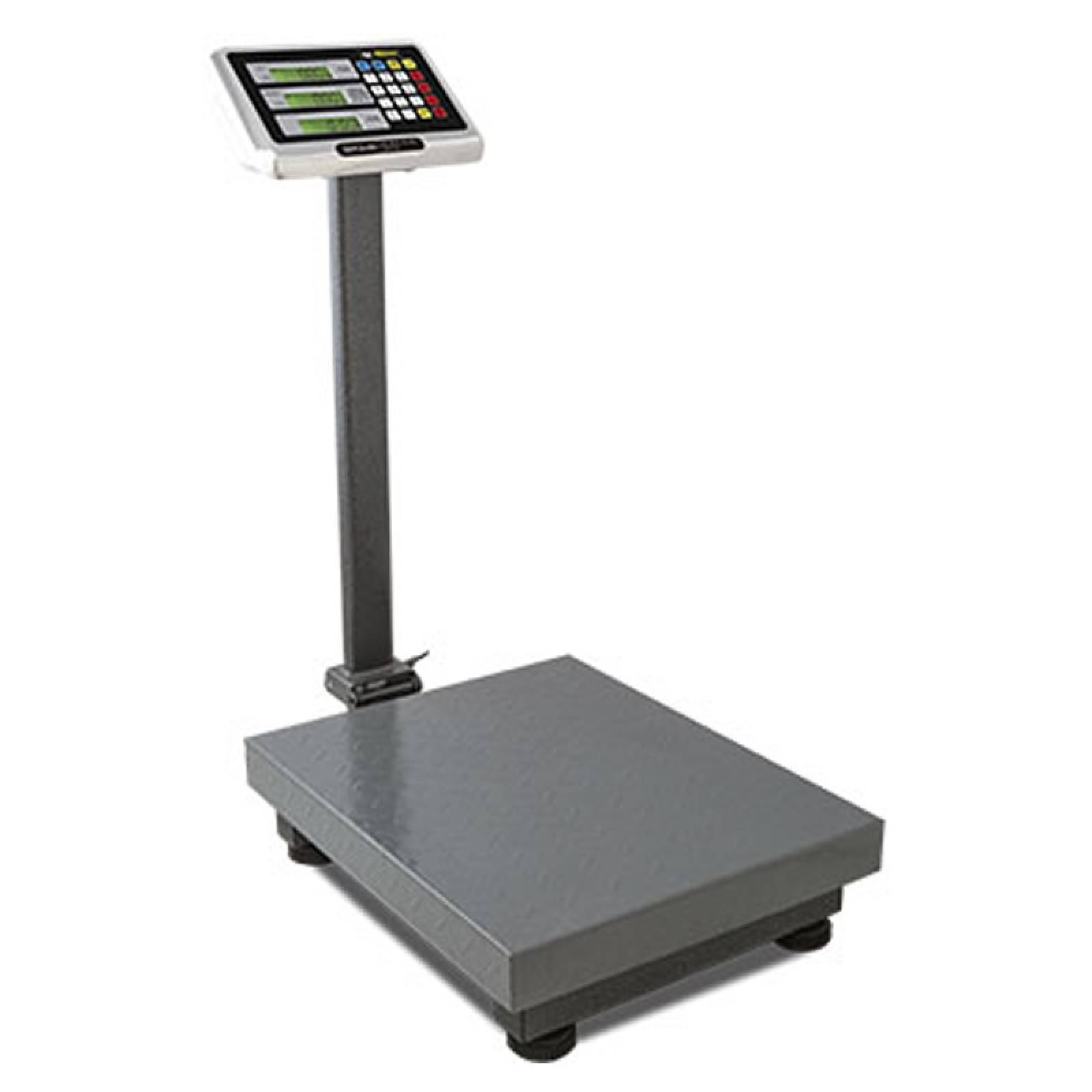Bascula Digital Plataforma 100Kg/10G Acero Al Carbono Rhino