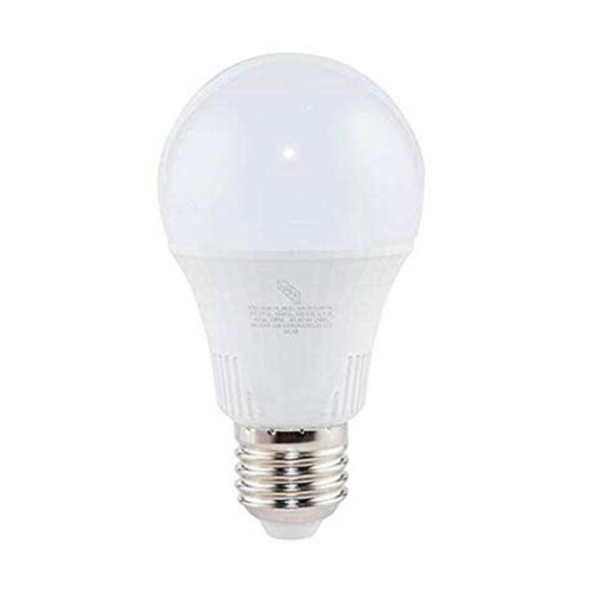 Foco Lampara Led Luz Blanca A19 9W Equivale 60 W 618312 Iusa