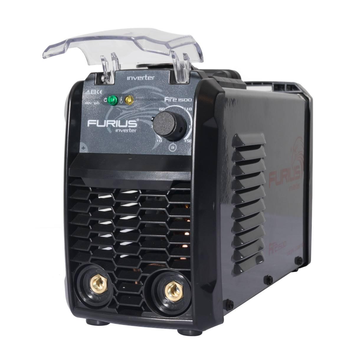 Soldadora Inversora Inverter CT40% 110v 1HP Fire 1500 Furius