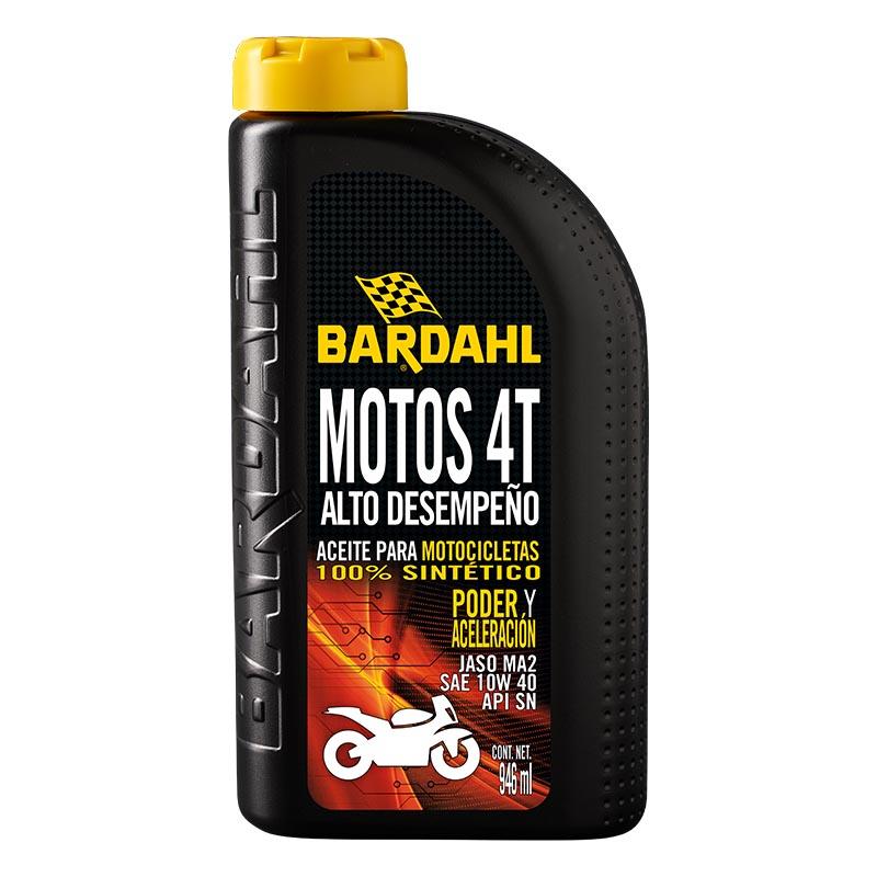 Aceite para Motos Alto Desempeño 4T 946 ml  Jaso MA2 Bardahl