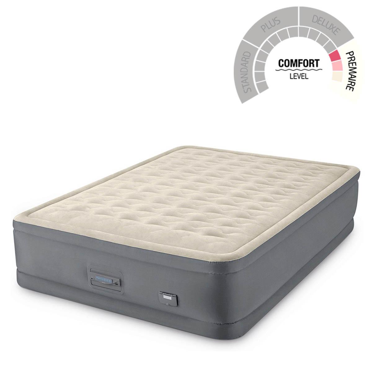 Colchon Inflable Queen + Entrada USB Y Bomba 64925EP Intex