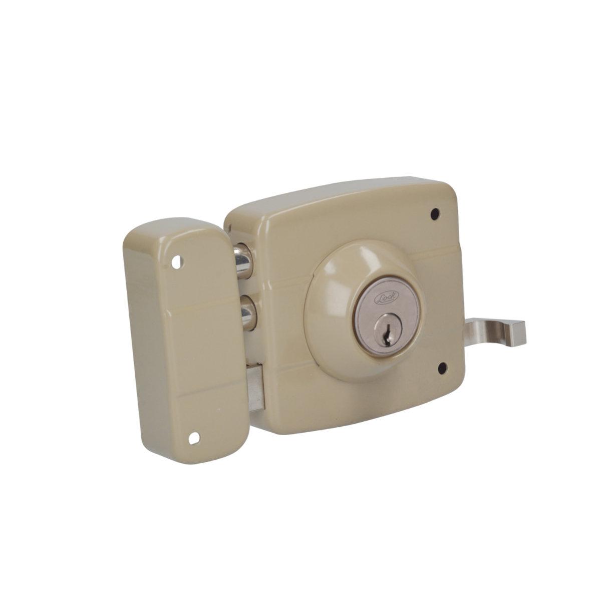 Cerradura De Sobreponer De Dos Bulones Derecha Lock