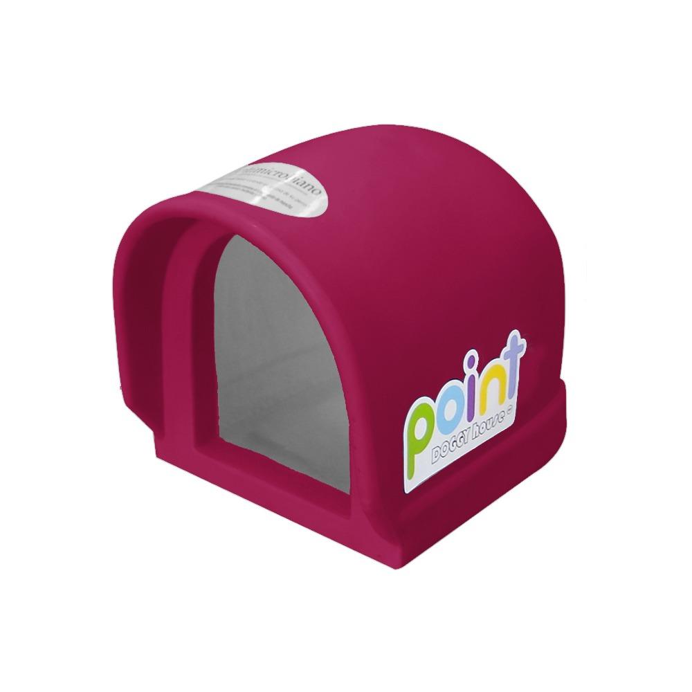 Casa Para Perro Mini Point Fucsia Doggy House