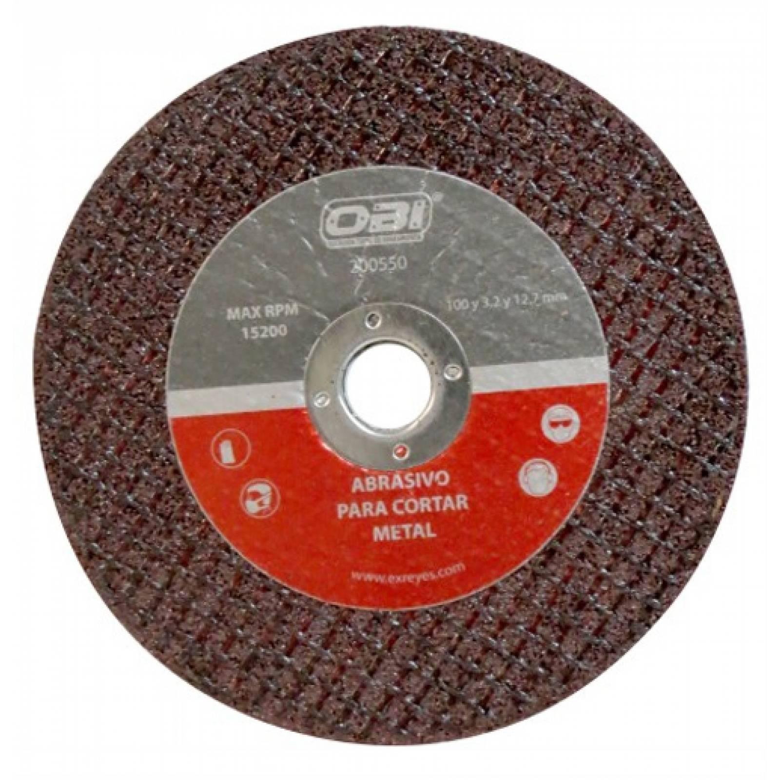 Abrasivo Metal 105 Y 3 Y 13 Mm Corte Obi
