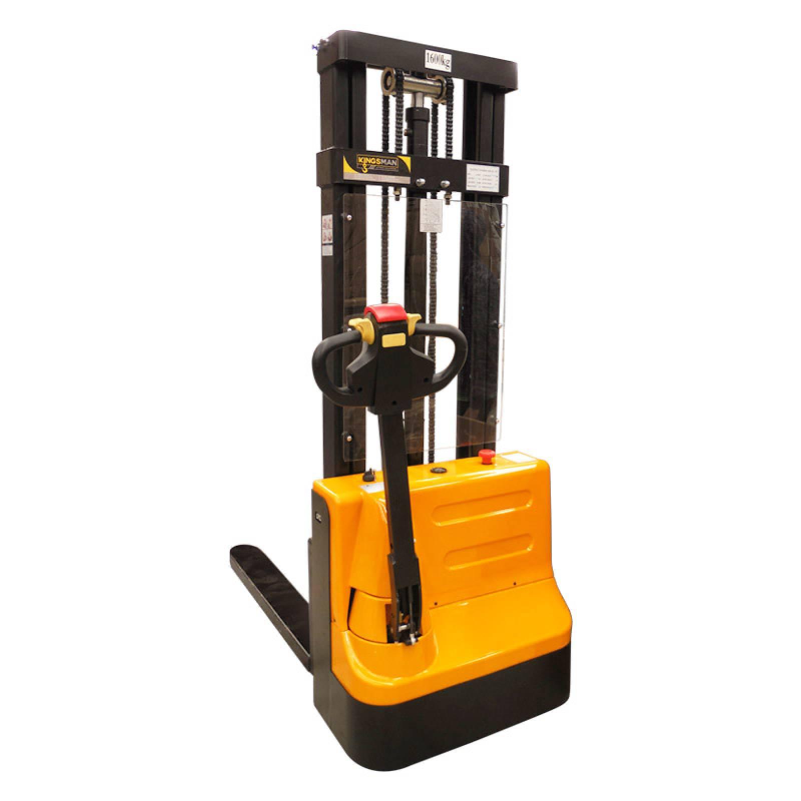Patin Montacargas Apilador Electrico Cap 1.6 Ton 3m Kingsman