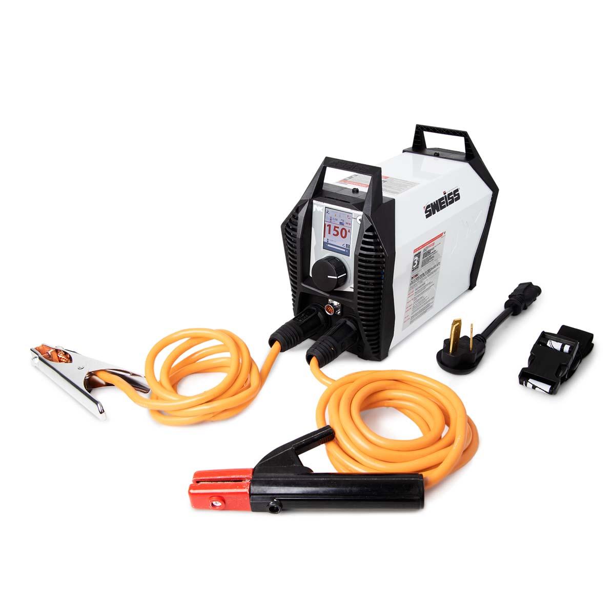 Soldadora Inversora Inverter 150AMP 110V-220V Pantalla Color