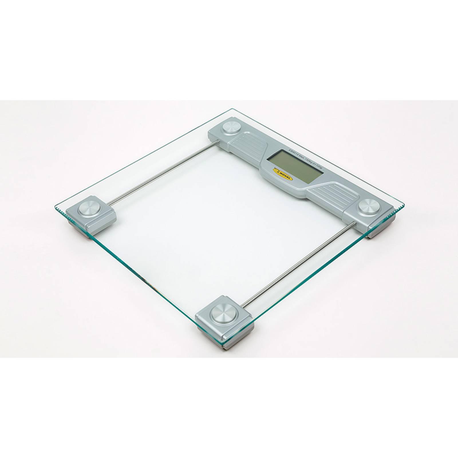 Bascula de Baño Digital Moderna Cristal 150 Kg 9013 Noval