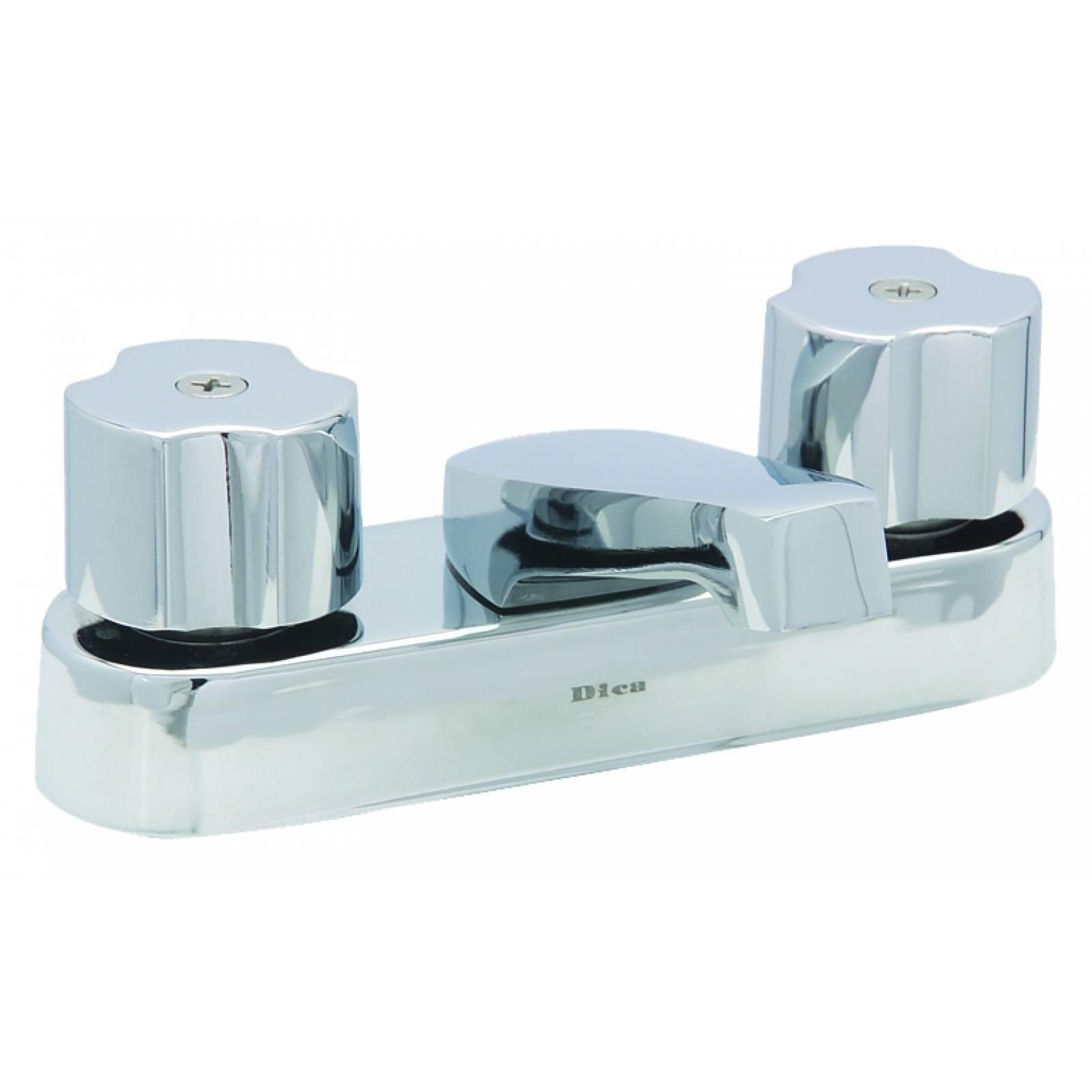 Mezcladora para lavabo en acabado cromo 4048 DICA