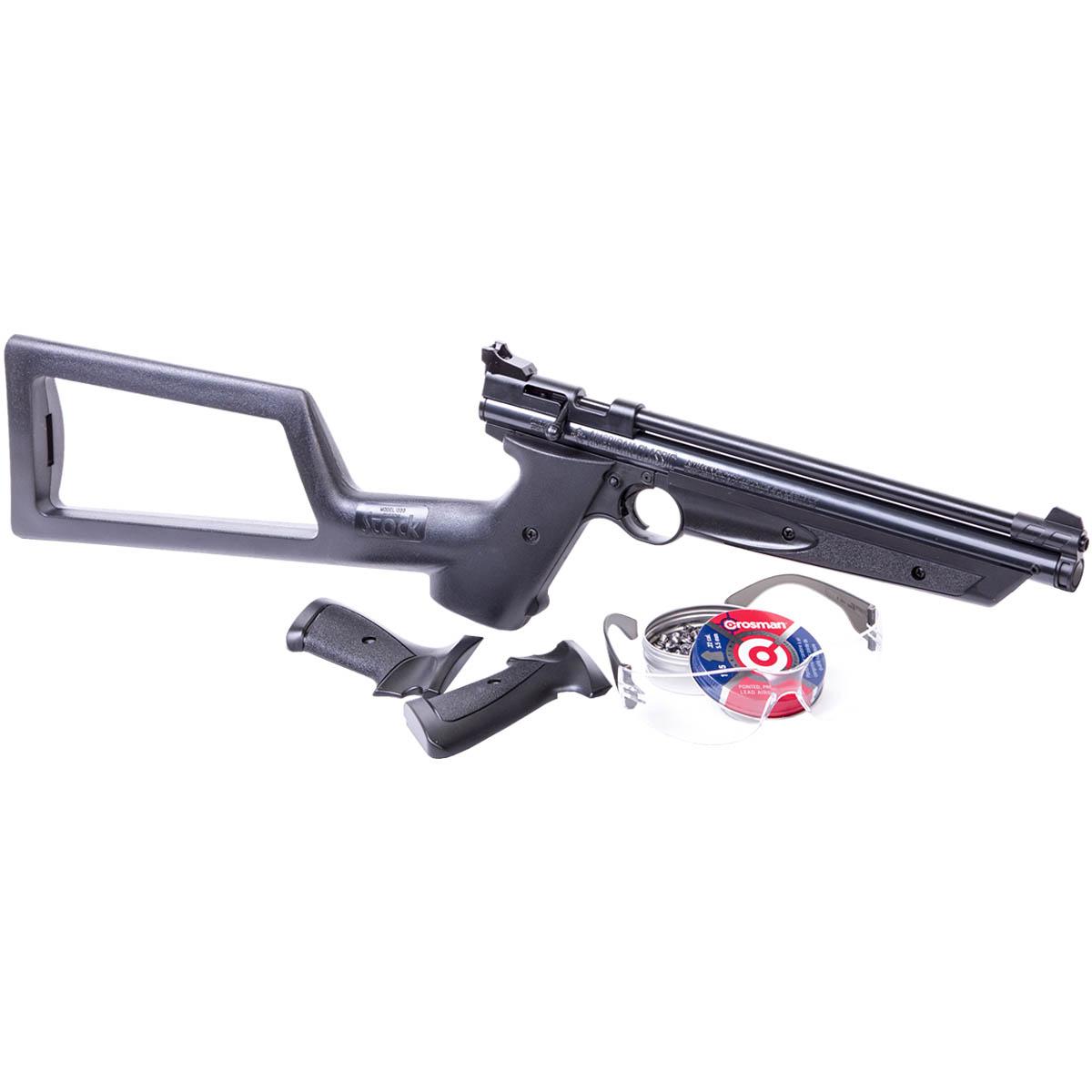 Pistola Co2 5.5 MM + Culata + Diabolos + Gafas Tiro Crosman