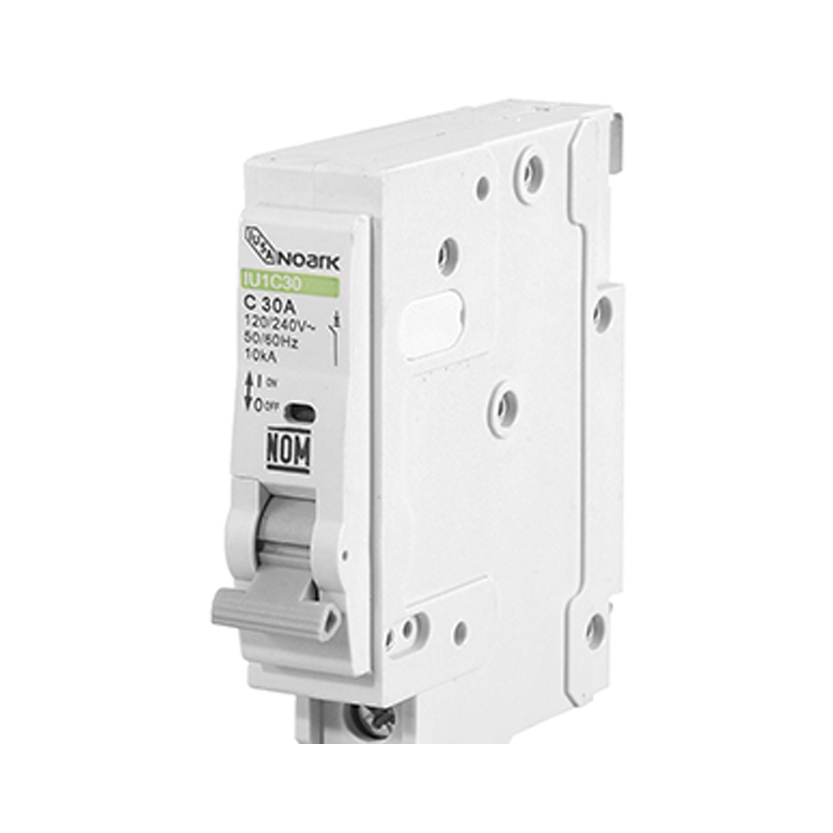 Interruptor Termomagnetico 1 Polo 10A Enchufable 616635 Iusa