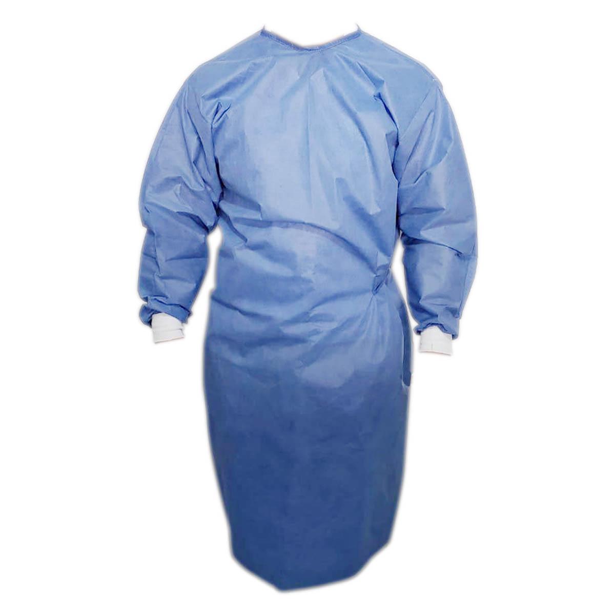 Bata Azul Quirurjica Desechable De Medico Cirujano Quirofano