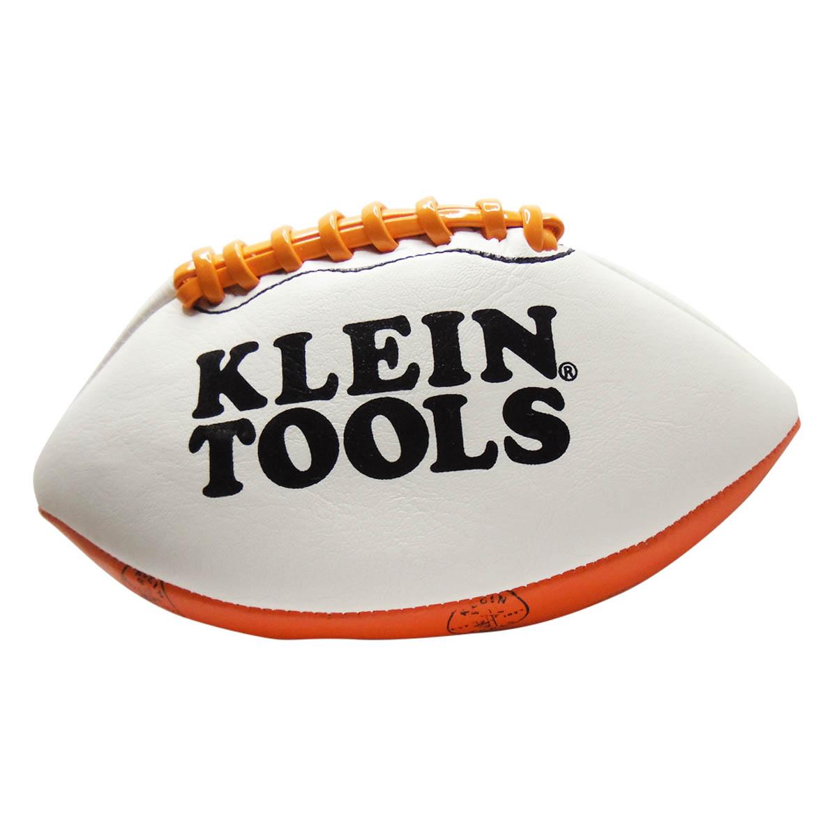 Balon Pelota Futbol Americano #3 Naranja Blanco Klein Tools